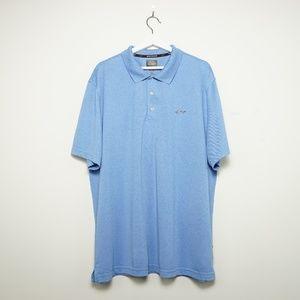 Greg Norman Collection Men's Blue Polo Shirt